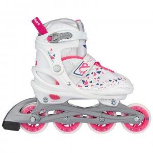 "Nijdam Inline Skates Ρυθμιζόμενα ""White Wedge"" N20AA04"