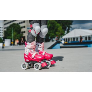 "Nijdam Roller Skates Ρυθμιζόμενα ""Feather Drops"" N21AA02"