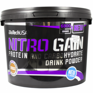 NITRO GAIN BIOTECH 6800gr - σε 12 άτοκες δόσεις