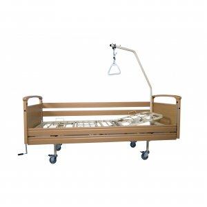 Νοσοκομειακό κρεβάτι ξύλινο με ανύψωση πλάτης και πλαϊνά Opus 4 - Σε 12 άτοκες δόσεις