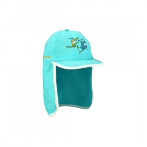 Παιδικό καπέλο ήλιου με πτερύγιο λαιμού (γαλάζιο) 23CU-BWL