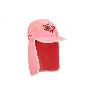Παιδικό καπέλο ήλιου με πτερύγιο λαιμού (ροζ) 23CU-RWF