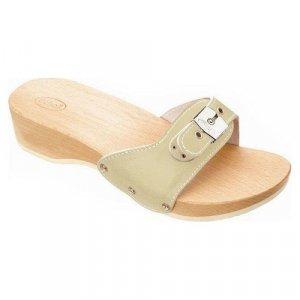 Γυναικείες ανατομικές παντόφλες Pescura Heel Sand Scholl 850181 - Μπεζ
