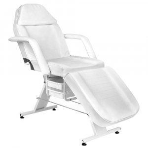 Πολυθρόνα Αισθητικής - Tattoo Κρεβάτι με 2 Συρτάρια - Λευκή - Σε 12 άτοκες δόσεις