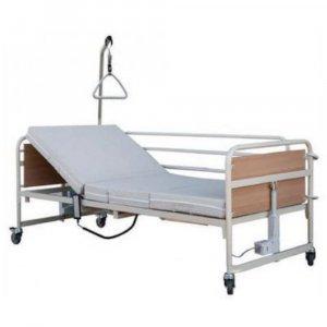 Νοσοκομειακό Ηλεκτρικό Κρεβάτι Μονόσπαστο με πλαϊνά, αναρτήρα και ρόδες Prato 3 - Σε 12 άτοκες δόσεις