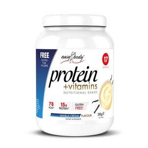 Πρωτεϊνικό Μίγμα με Βιταμίνες και Μέταλλα Σχεδιασμένο για το Γυναικείο Οργανισμό - Vanilla/Cream - 350gr