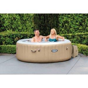 Pure Spa Bubble Massage (4 ατόμων) NEA κονσόλα  (έως 12 άτοκες δόσεις) - 28426