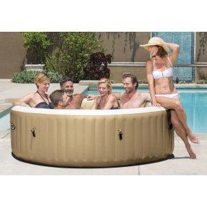 Pure Spa Bubble Massage (6 ατόμων) ΝΕΑ κονσόλα - 28428 - σε 12 άτοκες δόσεις