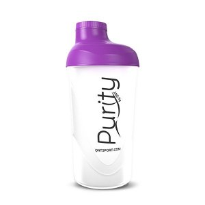 Purity Plastic Shaker 600ml - Purple