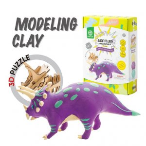 ROBOTIME Construction Kit Triceratops Back to Life FY05 - σε 12 άτοκες δόσεις