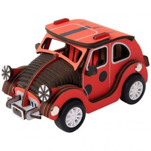 ROBOTIME Inertia Power Vehicles LADYBUG CAR HL301 - σε 12 άτοκες δόσεις