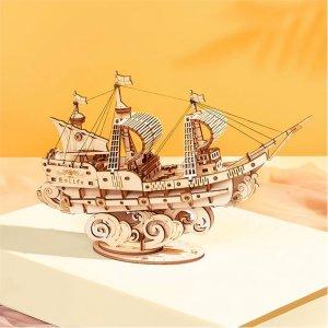 ROBOTIME Sailing Ship TG305 - σε 12 άτοκες δόσεις