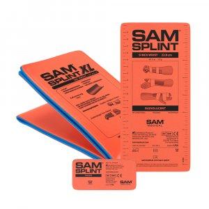 SAM SPLINT Σετ 3 τεμαχίων Εύπλαστων Ναρθήκων Ακινητοποίησης -sam-splint-set-3