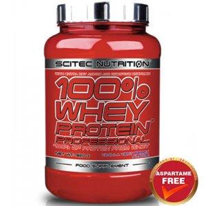 SCITEC NUTRITION 100% WHEY PROFESSIONAL 920GR - σε 12 άτοκες δόσεις
