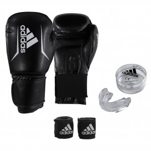 Σετ Πυγμαχίας ADIBPKIT01 (Γάντια, Μασέλα, Μπαντάζ) ADIBPKIT01