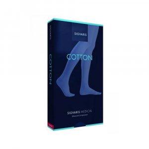 Κάλτσες Ιατρικές Διαβαθμισμένης Συμπίεσης με Ανοικτά Δάκτυλα Sigvaris Cotton 1 Κάτω Γόνατος Κλάση 1 (18-21 mmHg)