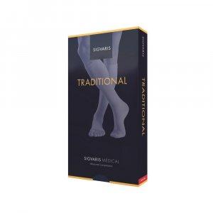 Κάλτσες Ιατρικές Διαβαθμισμένης Συμπίεσης με Ανοικτά Δάκτυλα Sigvaris 503 Κάτω Γόνατος Κλάση 2 (22-32 mmHg)