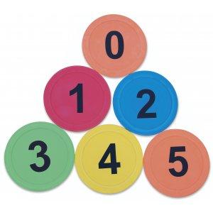Σημάδια με νούμερα (6 τμχ.)