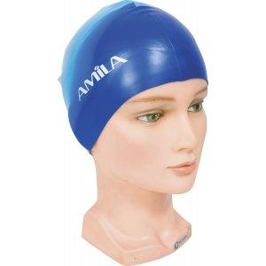 Σκουφάκια πισίνας απλά, Μπλε/Γαλάζιο