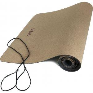 Στρώμα Yoga 4mm Φελλός - 96811 - σε 12 άτοκες δόσεις