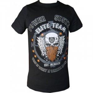 "T-shirt ""WARRIOR"" (μαύρο) PS-8004Β"
