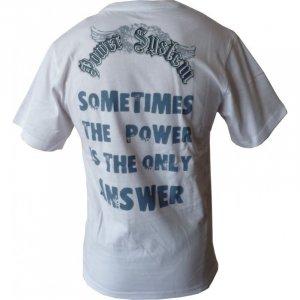 """T-shirt """"SPARTAN"""" (λευκό) PS-5000W"""