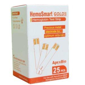 Ταινίες Αιμοσφαιρίνης - Αιματοκρίτη για τον μετρητή Hemosmart Gold - 25 τμχ