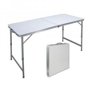 Τραπέζι πτυσσόμενο (Γίνεται βαλίτσα) 120x60x70 cm - 15529