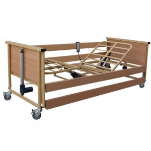 Νοσοκομειακό Ηλεκτρικό Κρεβάτι Πολύσπαστο με πλαϊνά,αναρτήρα και ρόδες Trento 1- Σε 12 άτοκες δόσεις