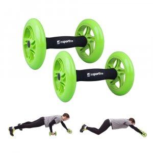 Τροχοί Άσκησης Κοιλιακών AB Roller Double - INS-13474 (ζεύγος)