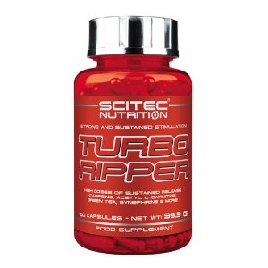 TURBO RIPPER SCITEC NUTRITION 100CAPS - σε 12 άτοκες δόσεις