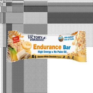 Endurance Bar banana & White Chocolate - 25 τμχ x 85gr