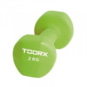 Βαράκι Neoprene 2kg Πράσινο Toorx - σε 12 άτοκες δόσεις