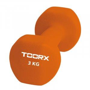 Βαράκι Neoprene 3kg Πορτοκαλί Toorx - σε 12 άτοκες δόσεις