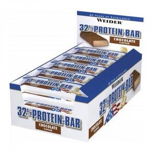 Μπάρα Πρωτεΐνης 32% Bar Σοκολάτα 60gr - 24 τμχ