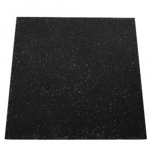 Δάπεδο Καουτσούκ CrossFit 100x100x1,5cm (Μαύρο) - YG011-3