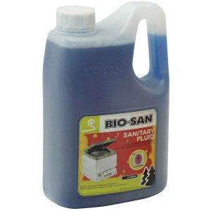 Bio San Sanitary Fluid Υγρό Καθαρισμού 2lt - 13-00064 - Σε 12 άτοκες δόσεις